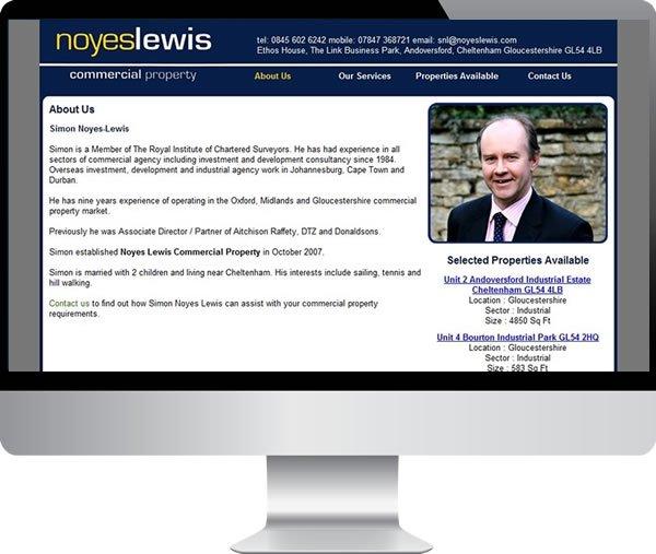 Noyes Lewis – Websites by Mark
