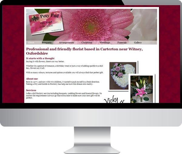 Posy Pad | Websites by Mark