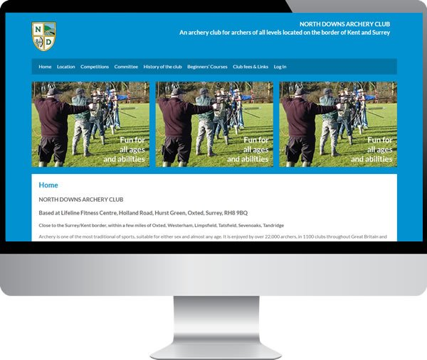 North Downs Archery Club | Websites by Mark