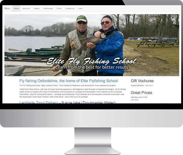 Elite Fly Fishing School – Websites by Mark