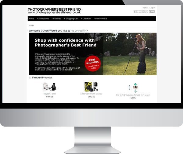 Photographers BF – Websites by Mark