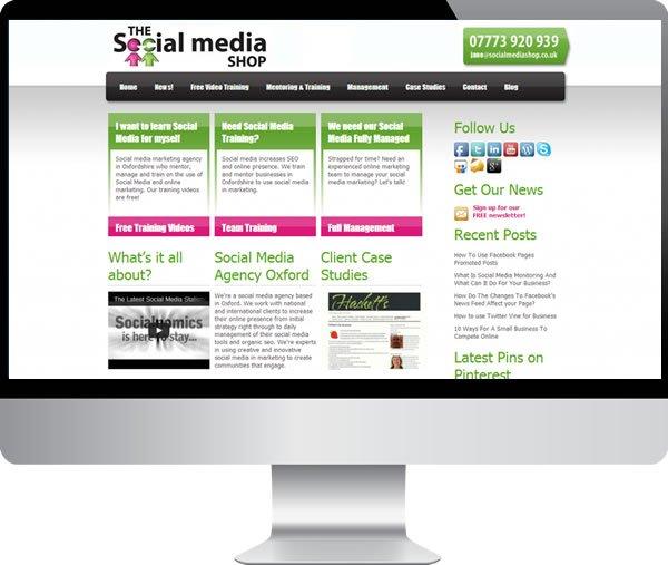 Social Media Shop