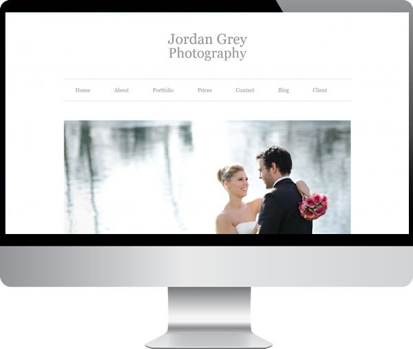 Jordan Grey Photography | Websites by Mark