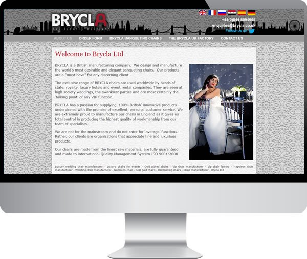 Brycla | Websites by Mark