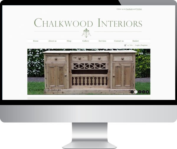 Chalkwood Interiors – Websites by Mark