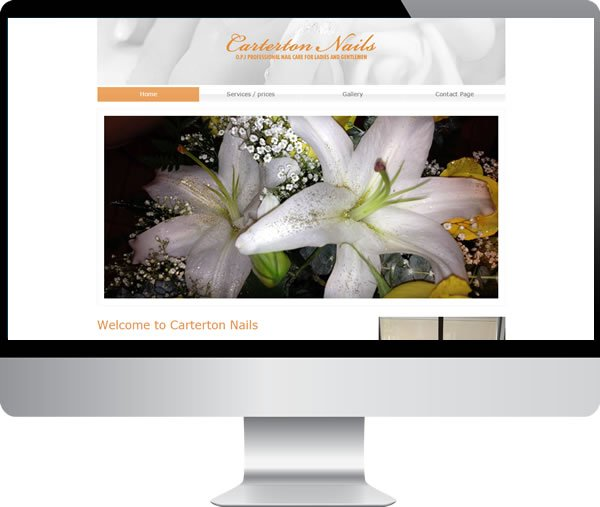 Carterton Nails – Websites by Mark