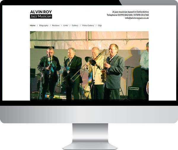 Alvin Roy Jazz Musician | Websites by Mark