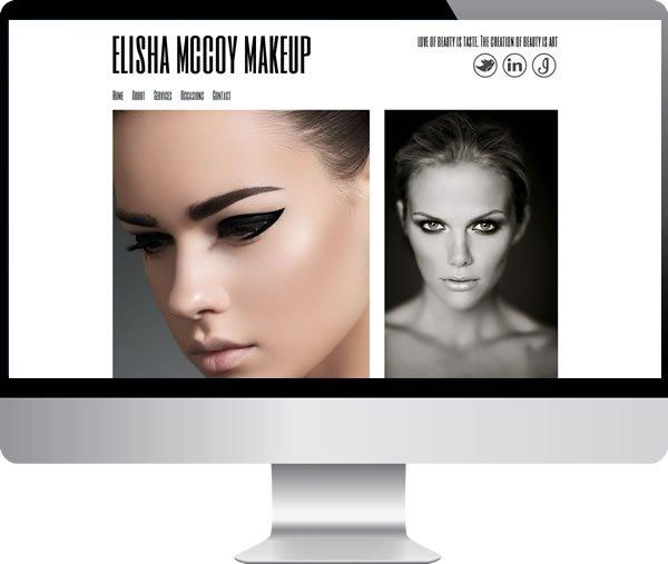Elisha McCoy professional make-up artist oxford – Websites by Mark