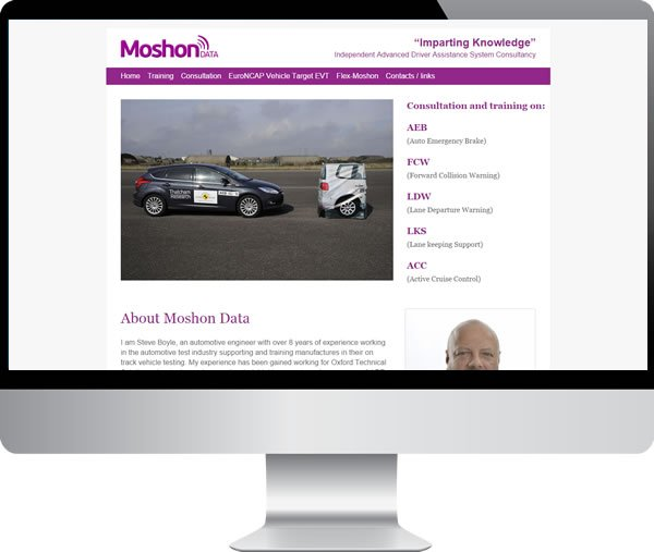 Moshon Data | Websites by Mark