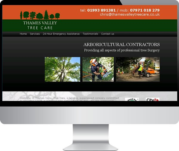Thames Valley tree care | Websites by Mark