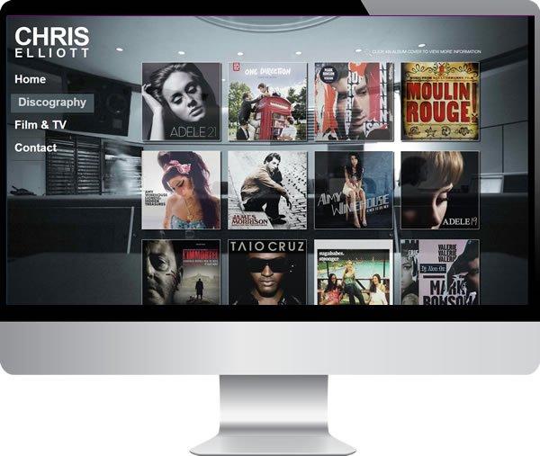 Chris Elliott | Websites by Mark
