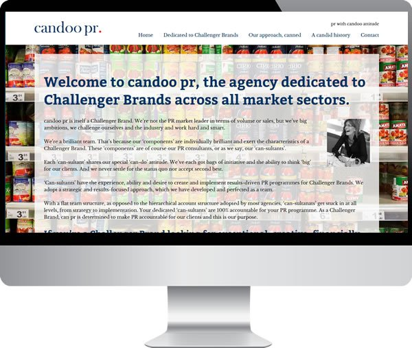 Candoo PR | Websites by Mark