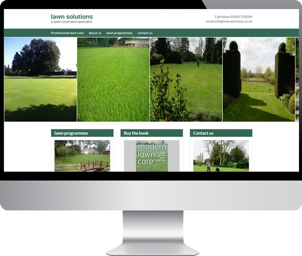 Lawn Solutions | Websites by Mark
