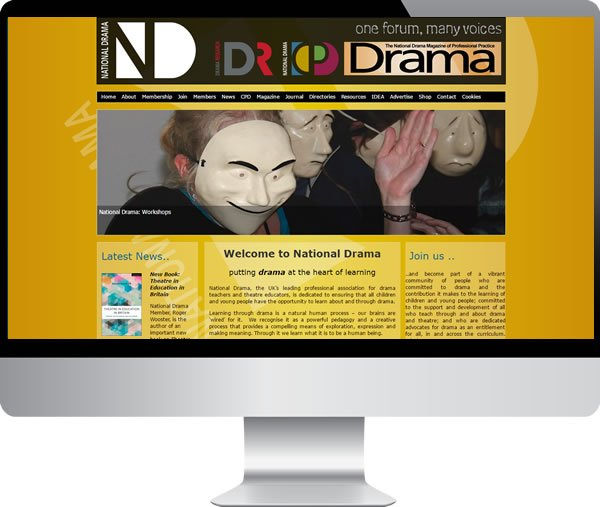 National Drama – Websites by Mark