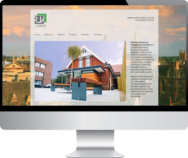 RJA Consultancy – Websites by Mark