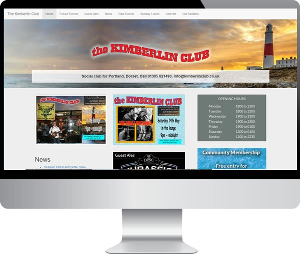 Kimberlin Club – Websites by Mark