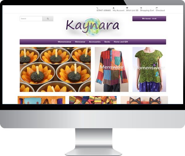Kaynara – Websites by Mark