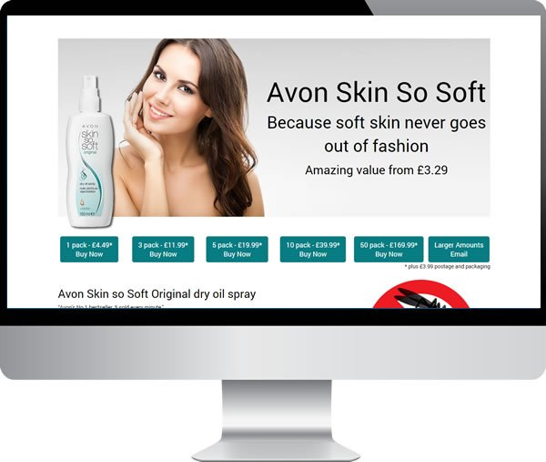 Avon Skin So Soft – Websites by Mark