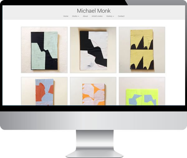 Michael Monk – Websites by Mark