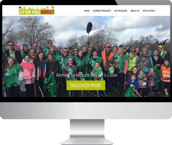 Litter Free Dorset – Websites by Mark