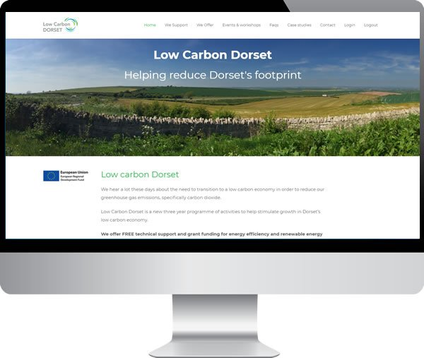 Low Carbon Dorset – Websites by Mark