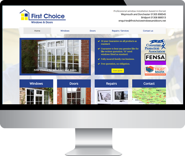 First Choice Windows & Doors Dorset