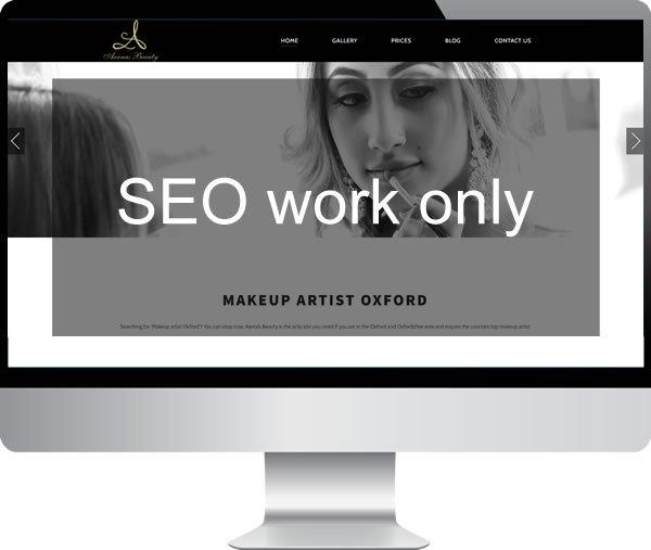 Aarna's Beauty | Websites by Mark